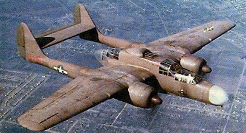 Нортроп P-61 «Блэк Уидоу»