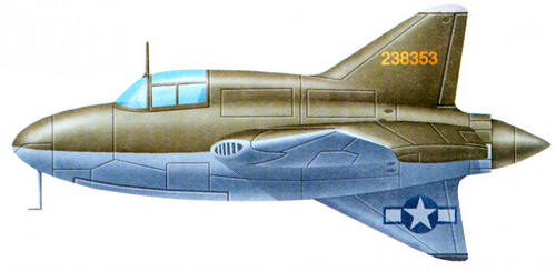 Нортроп XP-56 «Блэк Баллет»
