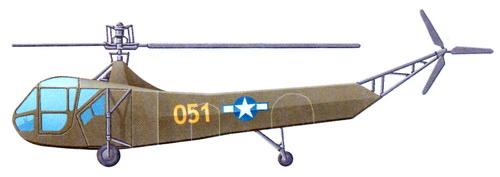 Сикорский R-4 и R-6 «Ховерфлай»